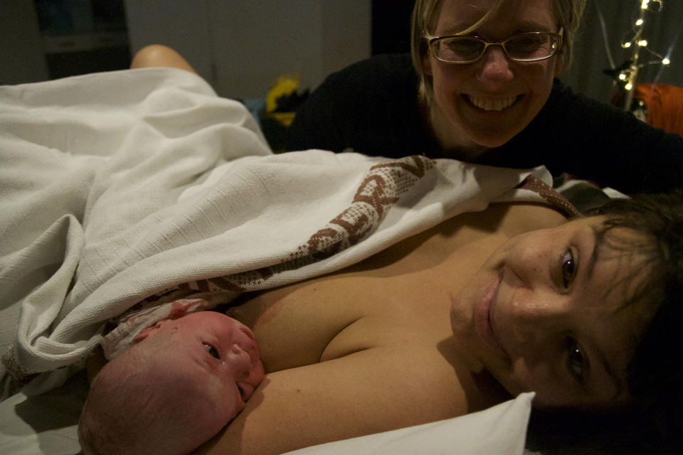 Welcome Kiddo – a powerful birth by induction